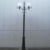 外灯 球タイプ(頭)D 球タイプ共通支柱