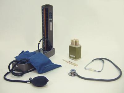 血圧計・体温計・聴診器