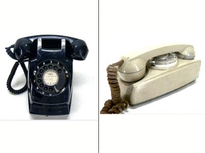 壁掛け電話