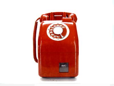 公衆電話機18