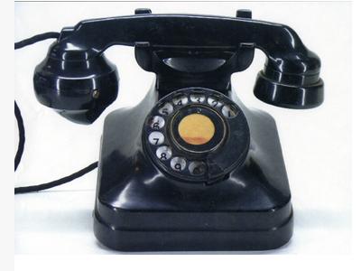 電話機(3号)黒01~05