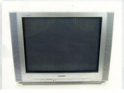 25型フラットブラウン管テレビ01