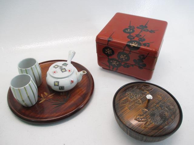 お茶用品、重箱、菓子鉢