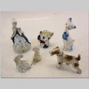 置物(陶器人形、動物)